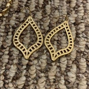 Gold earrings perfect condition not heavy